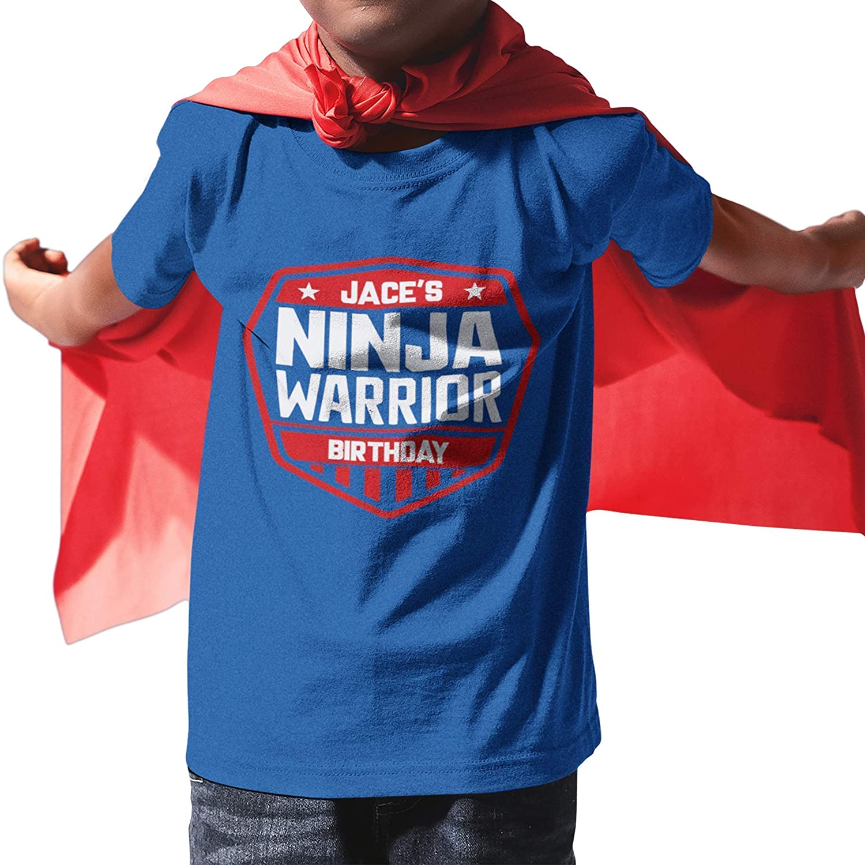 Ninja Warrior Shirt, Kids Ninja Birthday Shirt, American Ninja Warrior Shirt