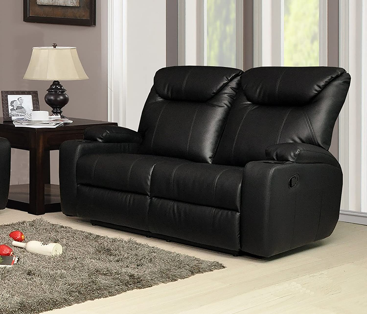 Lovesofas New Luxury Cinema Lazy Boy 2 Seater Bonded Leather