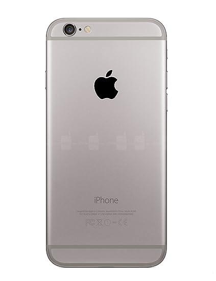 amazon com black apple logo overlay vinyl decal for iphone 6