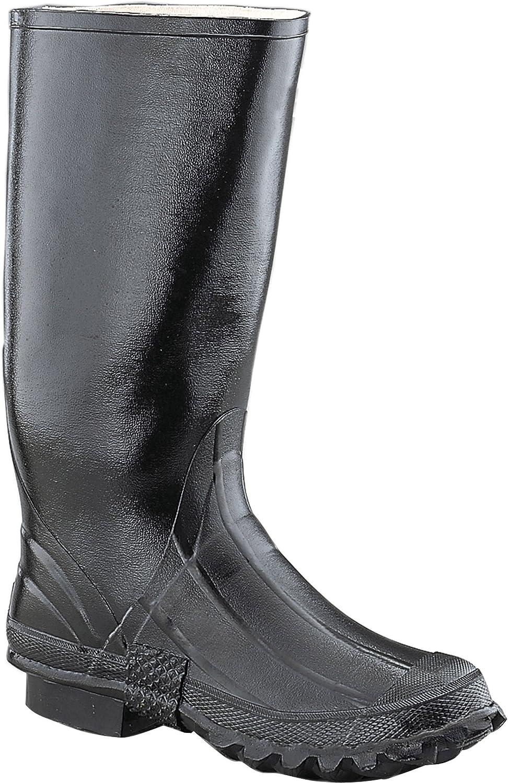 Ranger 17 Heavy Duty Mens Rubber Irrigation Boots Black T111