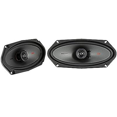 """Kicker KSC41004 KSC4100 4x10 Coax Speakers with .5\"""" tweeters 4-Ohm [5Bkhe1004268]"""