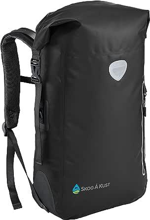 Skog Å Kust BackSåk Waterproof Floating Backpack with Exterior Zippered Pocket   for Kayaking, Rafting, Boating, Swimming, Camping, Hiking, Beach, Fishing   25L & 35L Sizes