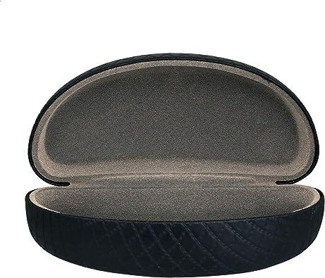 OptiPlix Funda rígida grande para gafas de sol | Funda para gafas de sol para hombres y mujeres - Negro - Large: Amazon.es: Ropa y accesorios