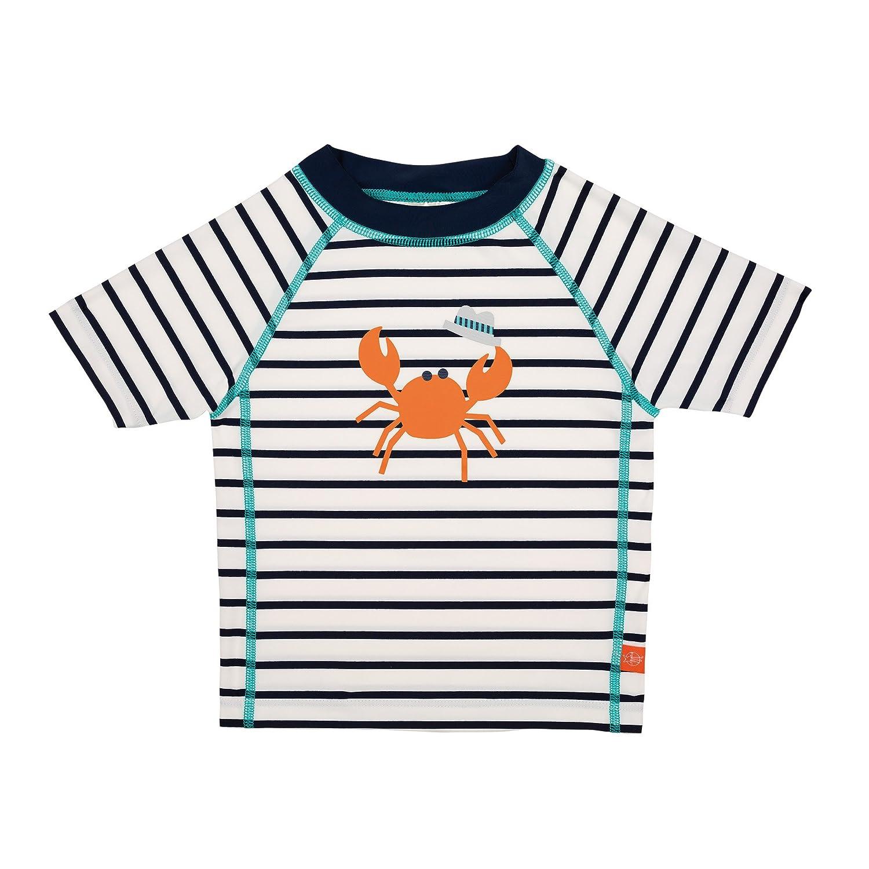 Lässig T-Shirt à Manches Courtes pour Garçon Marin Bleu 6 Mois LSSIG 1431006408-06