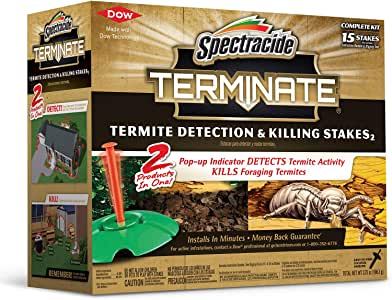 Spectracide Terminate Termite Detection & Killing Stakes2 (HG-96115) (15 ct)