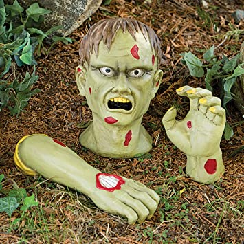 Bits Und Teile Garten Zombie Garten Decor Skulptur Amazonde