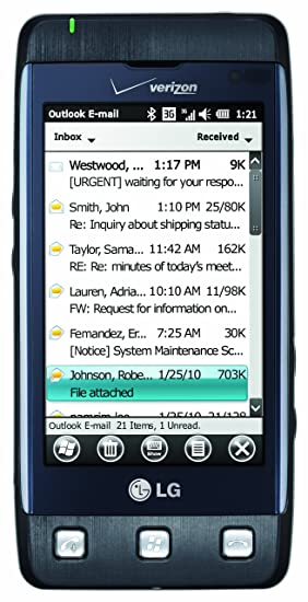 amazon com lg fathom blue verizon wireless cell phones rh amazon com LG Fathom User Guide Samsung Intrepid