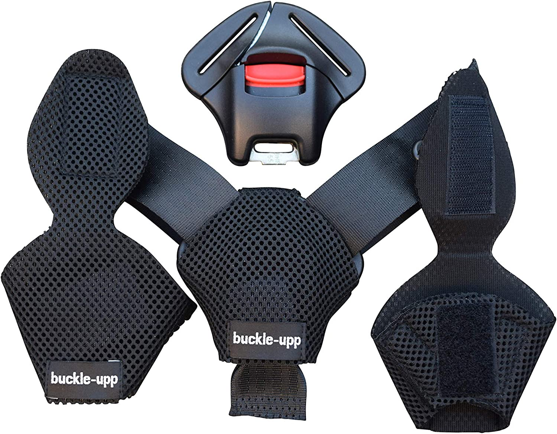 Ro Housse de ceinture de s/écurit/é pour voiture Triangle de s/écurit/é r/églable r/églable Clips de ceinture de s/écurit/é pour b/éb/é Protection de lenfant pour enfants Car-Styling Auto Goods