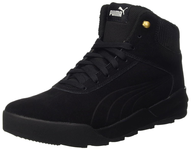 Puma Unisex-Erwachsene Desierto Sneaker Schneestiefel  36 EU|Schwarz (Puma Black-puma Black 02)