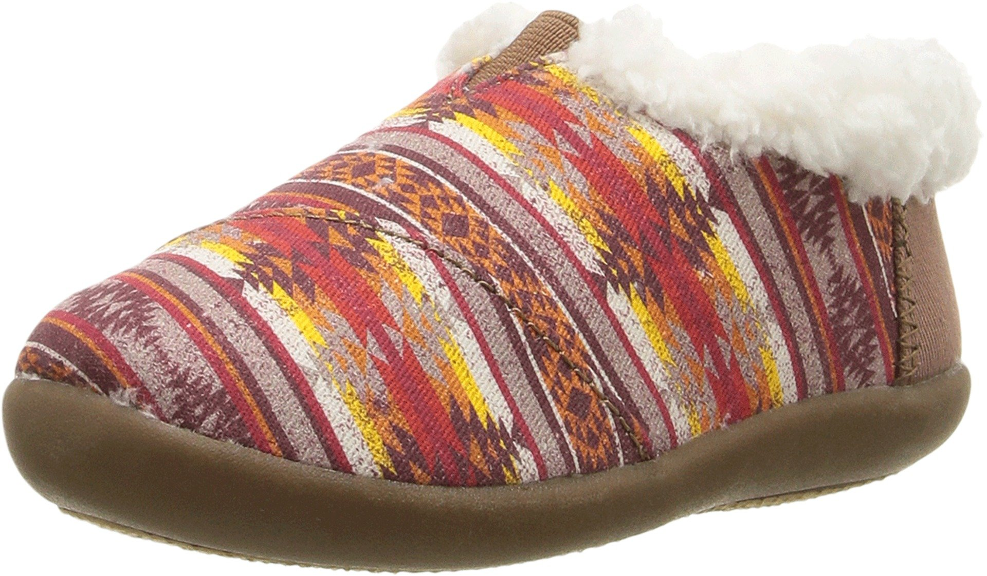 Toms House Slippers Brown Twill Sunset Stripe 10009131 Tiny 3 by TOMS