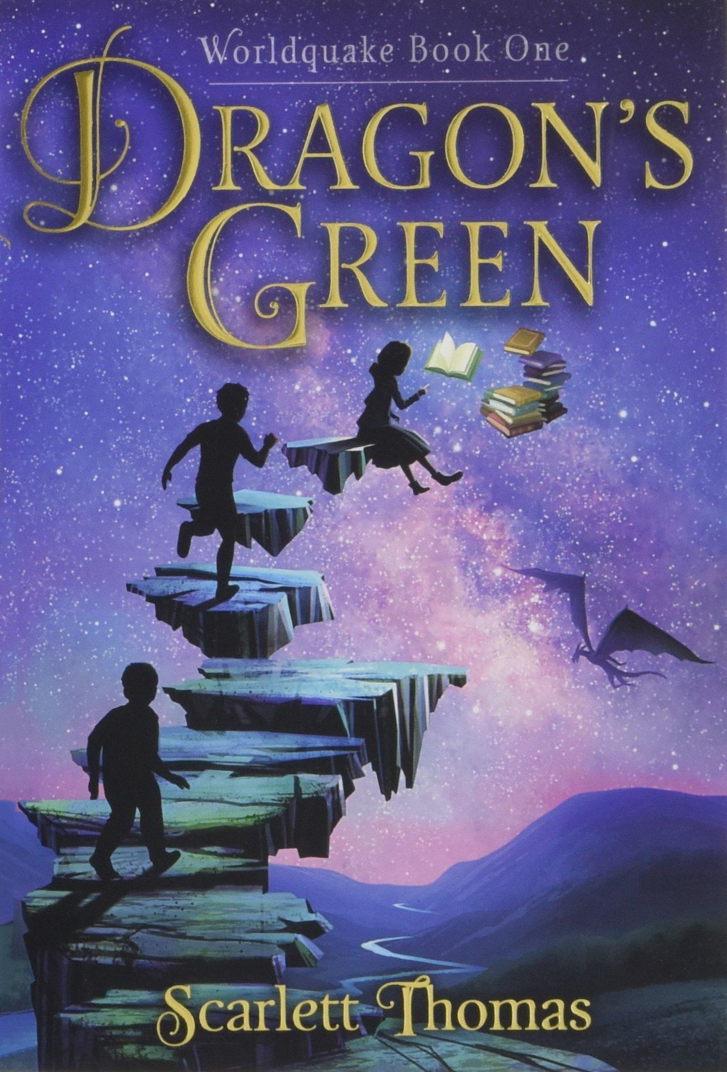 Read Online Dragon's Green (Worldquake) ebook