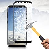Samsung Galaxy S8 Plus Screen Protector, Vitutech Galaxy S8 Plus Tempered Glass Full Coverage 3D CurvedSamsung Galaxy S8 Plus Tempered Glass, Vitutech Galaxy S8 Plus Screen Protector Full Coverage 3D Curved Hardness Guard Film Anti-Scratched Protector Film for Galaxy S8 Plus--Black