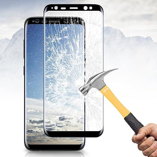 41 opinioni per 3D Copertura Completa Pellicola Protettiva Samsung Galaxy S8, Vitutech Screen