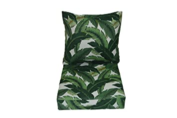 tommy bahama swaying palms aloe green tropical palm leaf cushions for patio outdoor deep