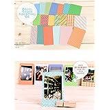 20 PCS Retro Color Instant Films Sticker For FujiFilm Instax Mini 8 7s 25 50s