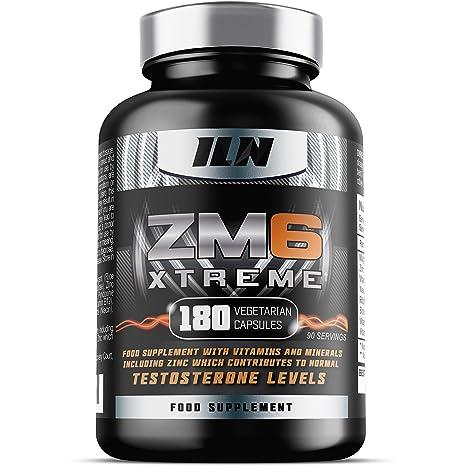 ZM6® Xtreme - 2,100mg | 180 cápsulas vegetales | 2-3 meses de