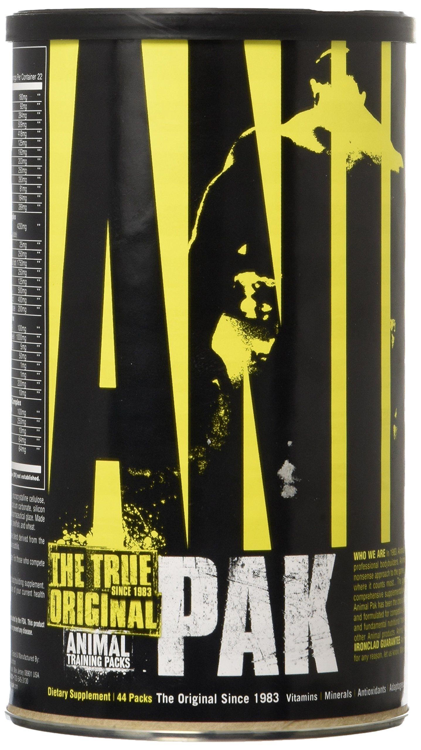 Animal Pak, 44 Packets, 22 Servings by Universal Nutrition by Universal Nutrition