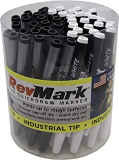 product image for RevMark Industrial Marker - 50 Pack Tub (Made in the USA) (Black/White Mix)