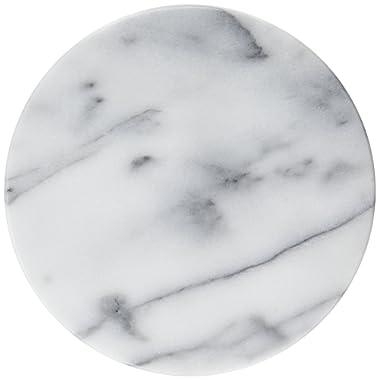 Evco International Creative Home 74077R Marble Trivet, White