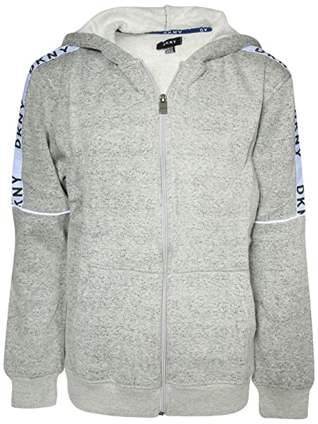 7c8abfb7962c Amazon.com  DKNY Boys Fleece Zip Up Hoodie Sweatshirt  Clothing