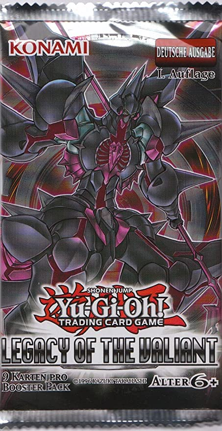 Yu-Gi-Oh! Legacy of the Valiant Booster: Amazon.es: Juguetes y juegos