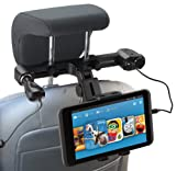 Navitech USB Port 4.2A headrest Mount with Integrated car Charger Compatible with The iPad air/Apple iPad 2 / Apple iPad with Retina Display