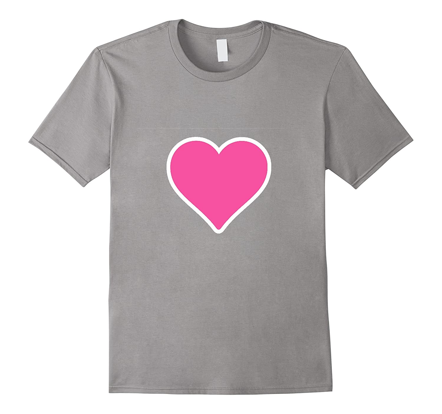 Pink Heart Emoji t shirt-CL