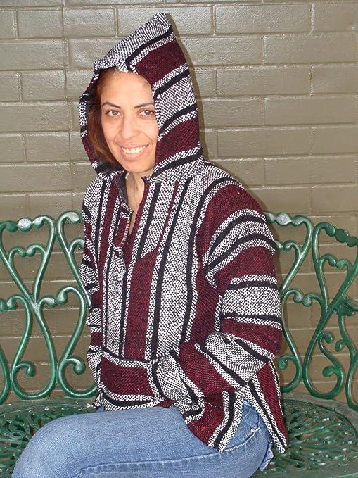 Amazon com: Sanyork Baja Hoodie Jacket Pullover Drug Rug Outdoor