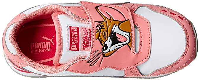Puma Cabana Racer Tom and Jerry Kids Sneaker (InfantToddler