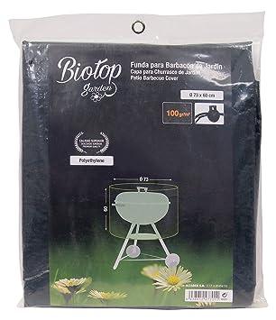 Biotop B2227 - Funda cubre barbacoas, color verde