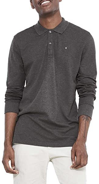 Celio JESLIMML Polo, Gris 100 Heather Grey, L para Hombre: Amazon ...