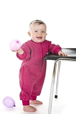0813e493cfc5 Amazon.com  Janus Merino Wool Baby Toddler Overall Romper Made in ...