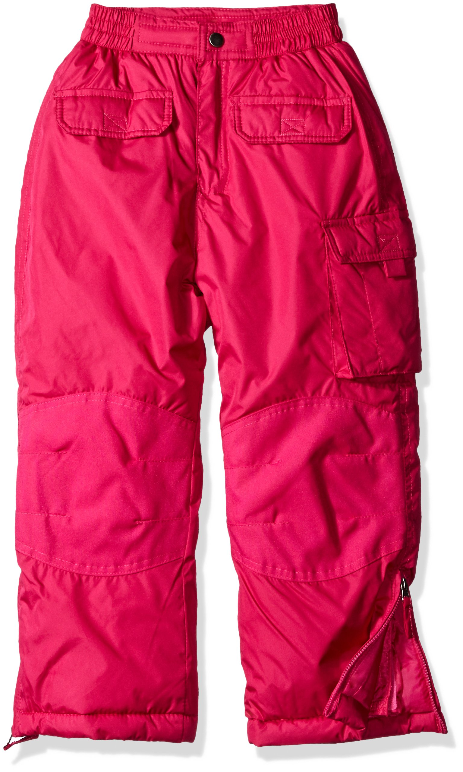iXtreme Little Girls' Snowpant, Berry, 4