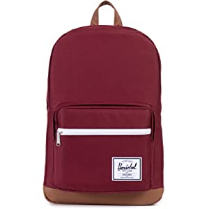 Herschel Pop Quiz Backpack-Windsor Wine/Tan