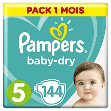 Pampers Baby Dry Couches Taille 5 11 16 11 23 Kg Pack 1