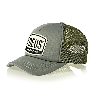 Deus Trucker Cap MORETOWN DMP87096 Khaki a2960419047