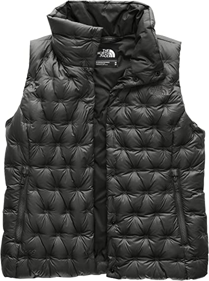 THE NORTH FACE girls XS black reversible mossbud vest NEW $85