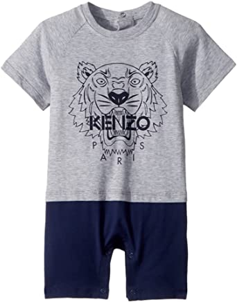 bff54c0a9 Amazon.com  Kenzo Kids Mens Romper Classic Tiger (Toddler)  Clothing
