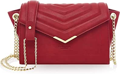 LaBante London - 'Kensington' - Cross Body Bag for Women | Handbag Small Bag | Over Shoulder Bags for Women PU Vegan Leather