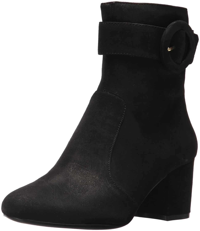 Nine West Women's Quilby Suede Ankle Boot B01N5XPGO7 11 B(M) US|Black