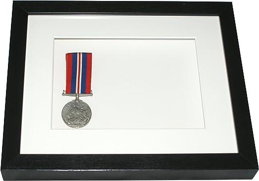 De profundidad cm marco de fotos, 10 x 8 para medallas, relojes de bolsillo, caja: Amazon.es: Hogar