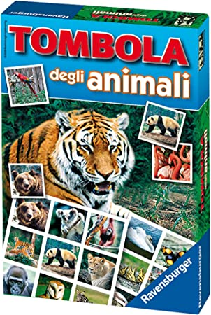 Ravensburger 21976 - Bingo Infantil, con diseño de Animales: Amazon.es: Juguetes y juegos
