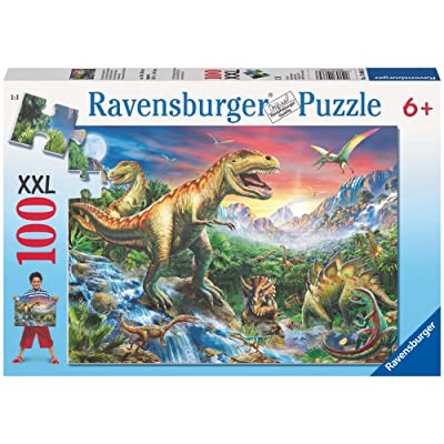Ravensburger The time of The Dinosaurs Jigsaw Puzzle (100 Piece): Toys & Games