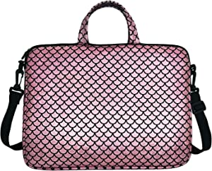 "17.3-Inch Laptop Shoulder Carrying Bag Case Sleeve For 17"" 17.3 inch HP DELL (Pink)"
