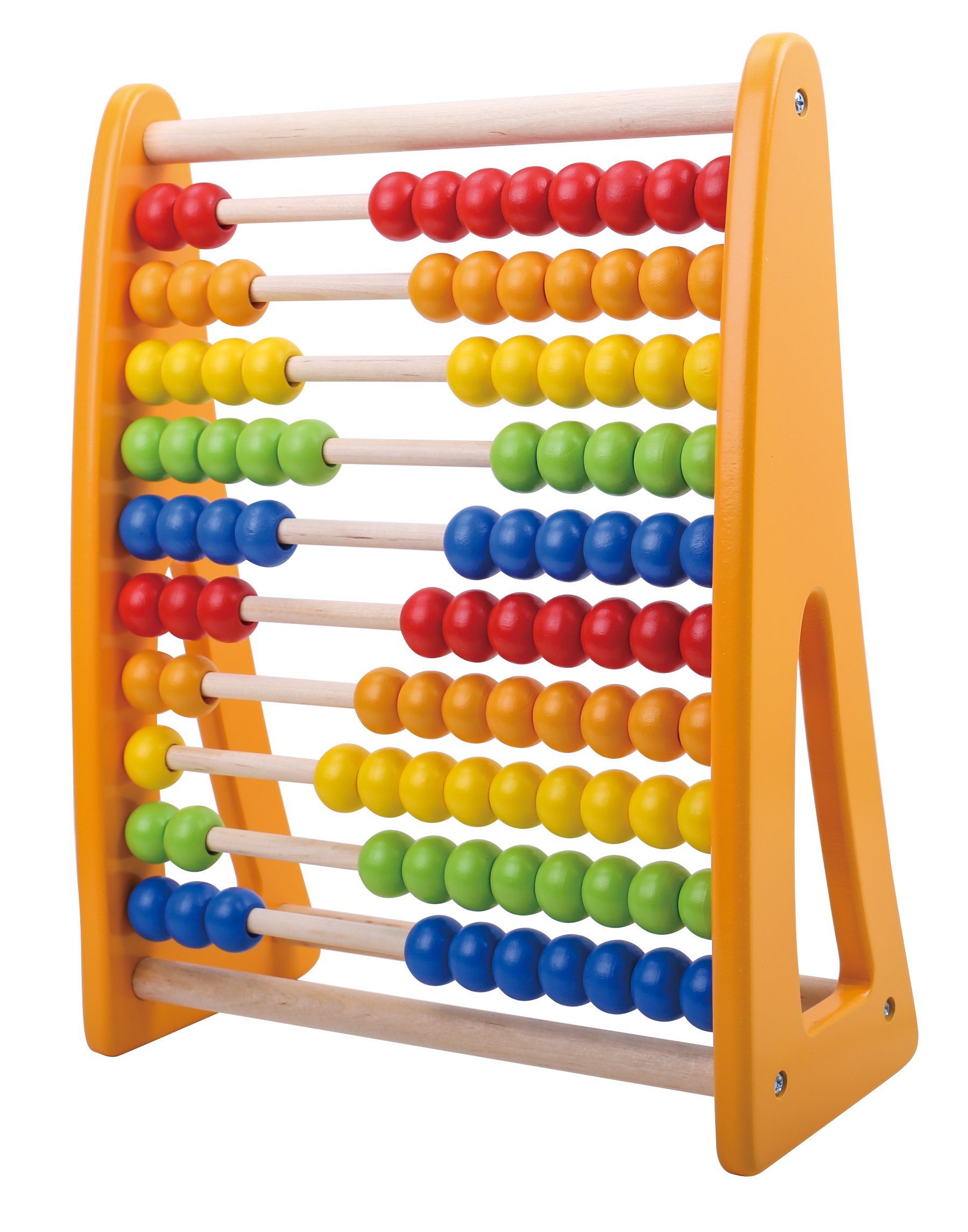 Pidoko Kids 123 Learning Abacus Toy - Math Manipulatives Numbers Counting Beads   Educational Toys for Toddlers - Preschool Boys and Girls 2 Year Olds and Up