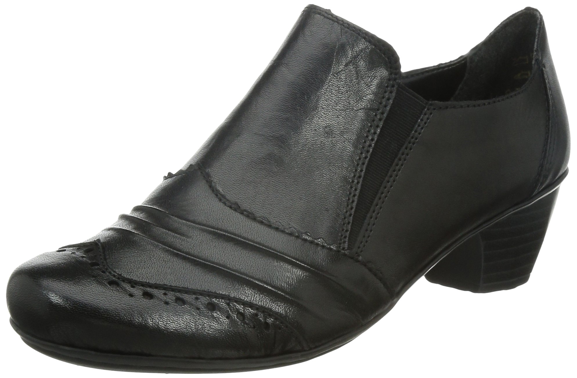 Rieker Odyssey Womens High Cut Court Shoes 39 M EU/ 8-8.5 B(M) US Black