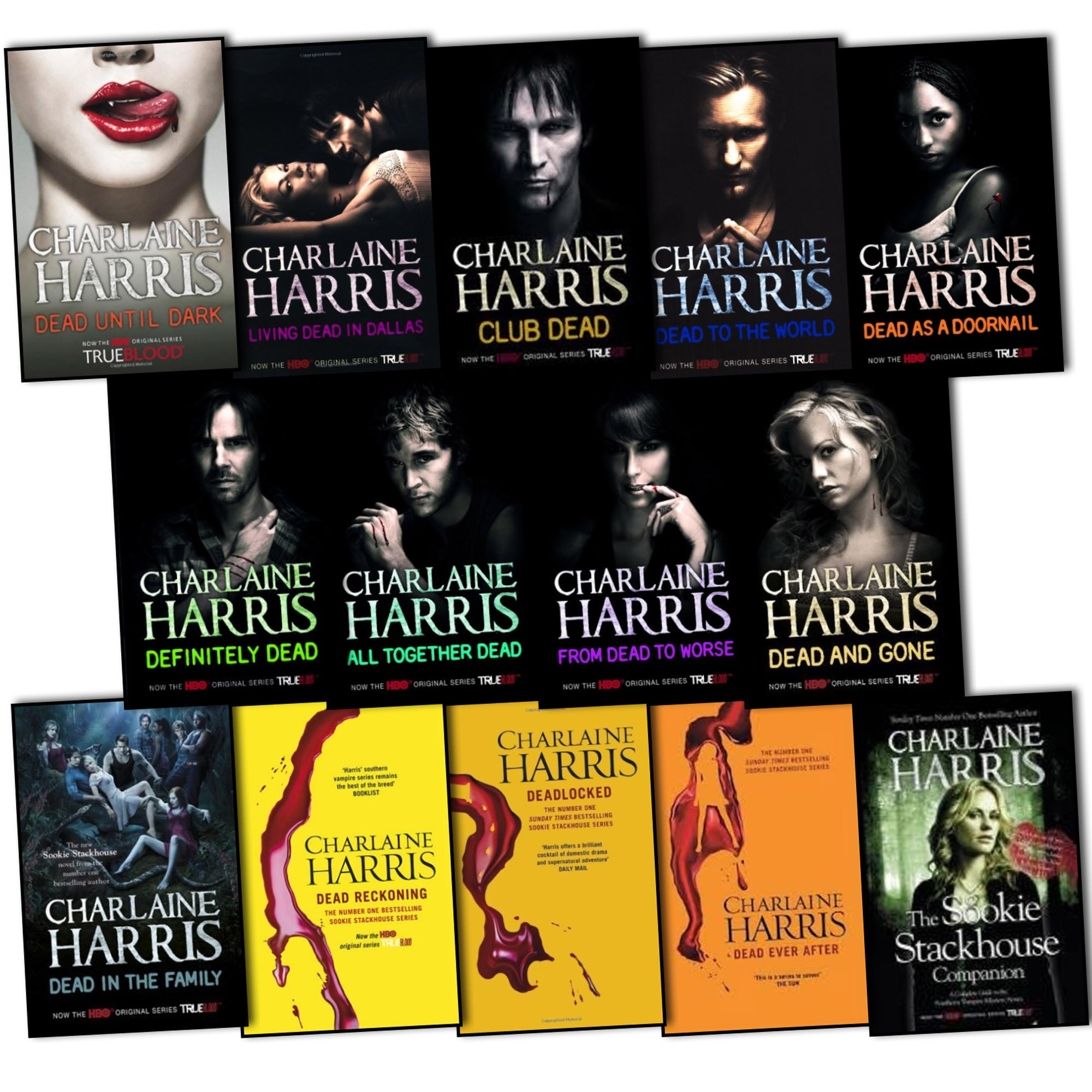 Charlaine Harris True Blood Sookie Stackhouse 14 Books Collection Pack Set  Rrp: £14286: Amazon: Charlaine Harris: Books