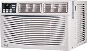 BLACK+DECKER BWAC12WT 12,000 BTU ENERGY STAR Electronic Window Air Conditioner with Remote