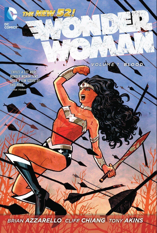 Wonder Woman, Vol. 1: Blood (The New 52): Azzarello, Brian, Chiang, Cliff:  8601404518461: Amazon.com: Books