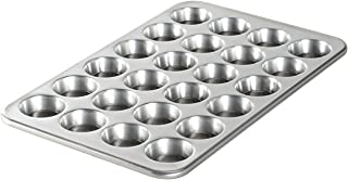 product image for Nordic Ware Natural Aluminum Commercial Petite Muffin Pan, 24 Cup